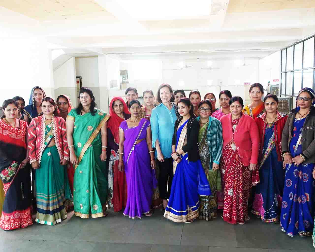 Artisan jewelry makers in India supported by Trades of Hope